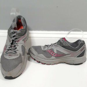 Saucony Cohesion 10  Womens Sz 10 Gray Running
